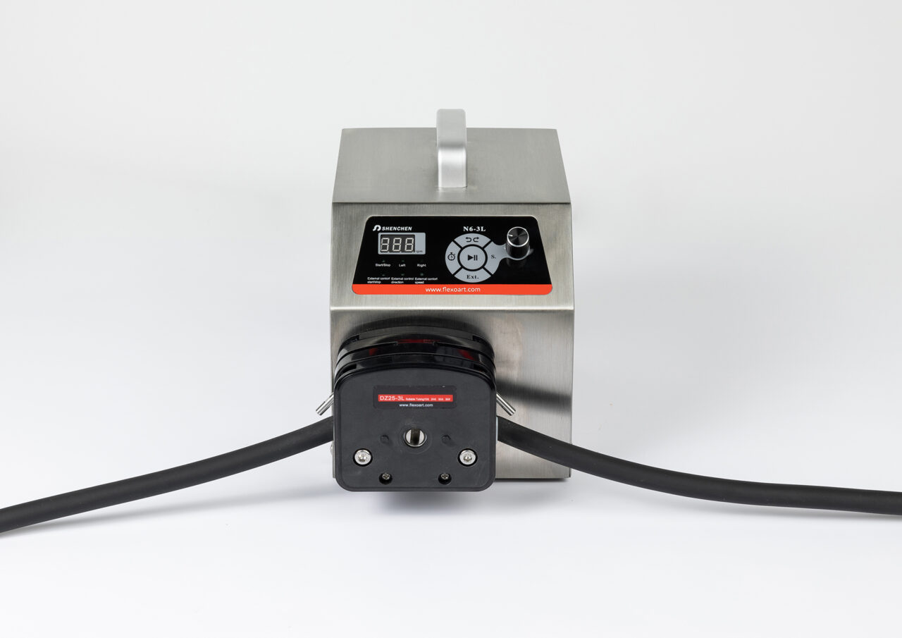 FlexoArt - Peristaltic pump speed control